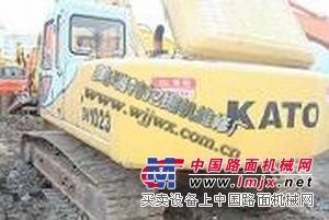 维修攀枝花加藤挖掘机发动机不能启动、挖机突然自动熄火