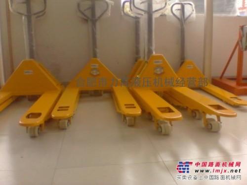 安徽合肥液压车(老虎车搬运车)专业上门维修保养