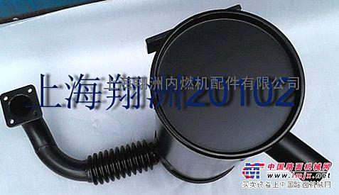 供应高空作业车消声器 工程机械消声器 挖掘机消声器