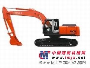 维修西宁日立ZX360H-3G挖掘机小臂掉缸