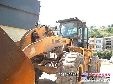 贵州盛大柳工二手装载机