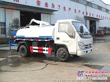 厂家直销福田小卡吸粪车,抽吸粪便污水污泥浆和带有悬浮杂物液体