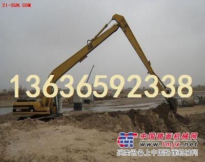 出租长臂挖机松江地区挖机出租,租赁路基板钢板