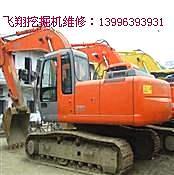 专业维修挖掘机温度高动作慢无力发动机等