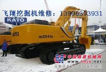 加藤HD820R挖掘机水温高,达到110度怎么办