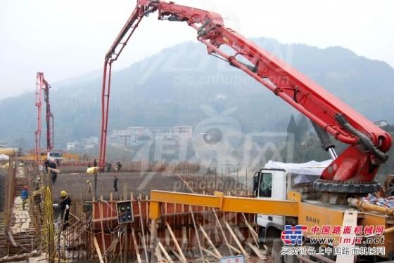 三一重工广东分公司面向全国出租泵车车载泵37到62米