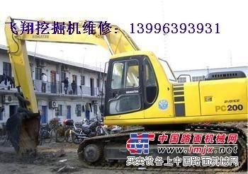 维修挖掘机热车无力,挖掘机动作慢无力