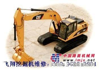 重庆哪里有挖掘机维修 修理卡特挖掘机液压油温太高