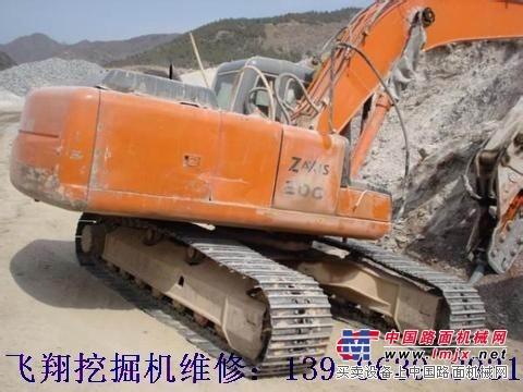 日立挖掘机速度慢 无力温度高