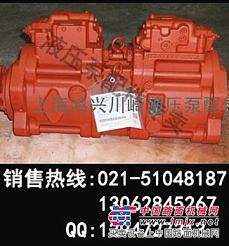 加藤韩国配套液压泵-加藤挖掘机原装液压泵