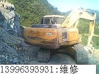 维修妖魔山挖掘机维修 小松挖掘机全车无力是什么问题