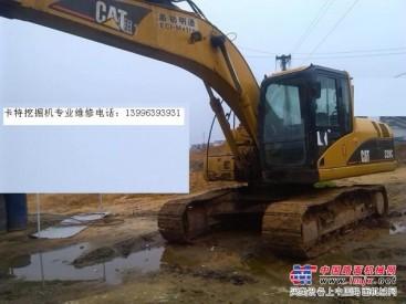 毕节神钢挖掘机维修-330-8挖机废气大烧机油
