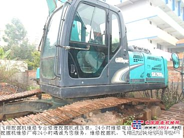 楚雄小松挖掘机修理厂孟师傅解答PC300挖机出现噪音大