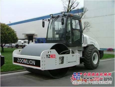 出租中联重科YZ20H单钢轮压路机