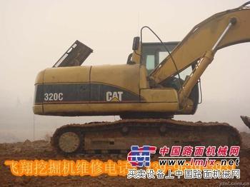 湖南挖掘机维修修理湖南红岩溪卡特挖机机油油压报警