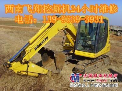 咸阳维修-小松PW100-3挖掘机右行走没力,速度慢