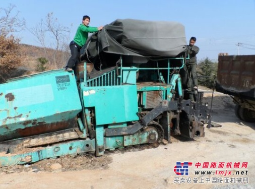 徐州出售转让二手13米福格勒2500沥青摊铺机