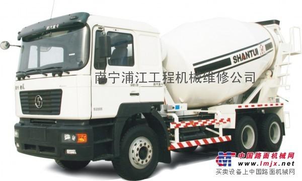 广西搅拌运输车液压系统维修13883997117