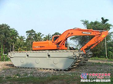 亚洲机械设备博览会(中国·北京)水陆两用挖掘机,水陆挖掘机