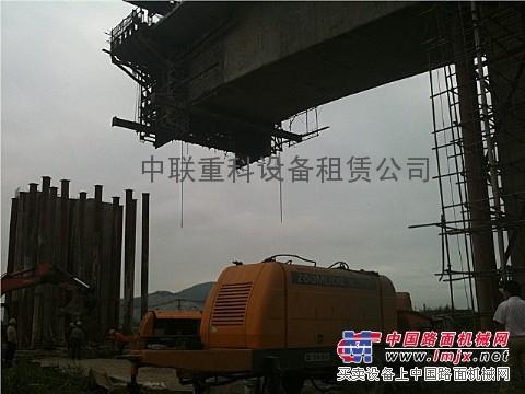 贵州专业出租中联80拖泵18216195309