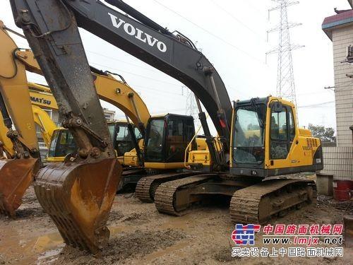 太原进口二手沃尔沃EC210挖掘机,原厂机械报价