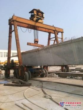 紧急低价出售提梁机,大吨位,目前机器在四川巴中