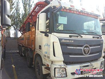 福田雷萨厂家出售二手56米车况良好泵车!
