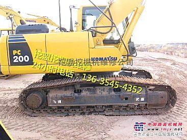 四川小松挖掘机维修,修理挖机发动机温度高