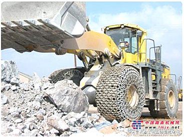 供应厂家直销成工16/70-20型装载机轮胎保护链及配件