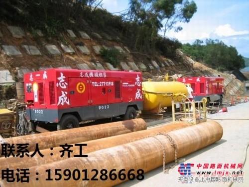 武汉出租螺杆式空压机,武汉柴动空气压缩机租赁