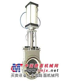 供应PZ673TC气动薄型陶瓷排渣浆液阀