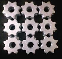供应直销各种型号的小型路面铣刨机刀片 八星齿 六星齿