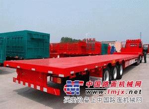 平板半挂车的应用-梁山县专用挂车制造厂
