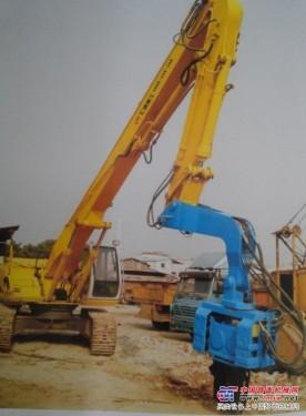 供应小松挖掘机打桩臂振动锤厂家直销报价 打桩臂振动锤供应商