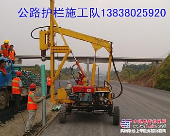江西公路护栏安装高速公路波形护栏打桩护栏施工