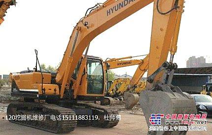 广安现代R215-9挖掘机液压油过热