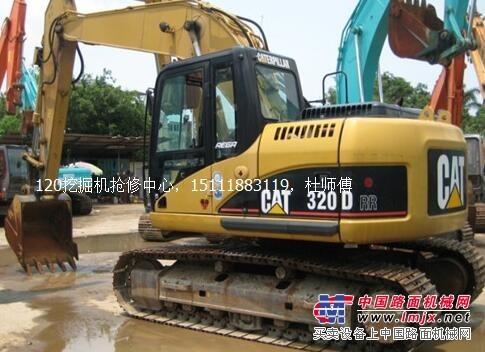 乐山卡特320D挖掘机液压油温高速度慢