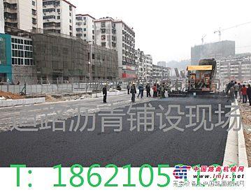 上海市政道路改造路面沥青铺设,修补