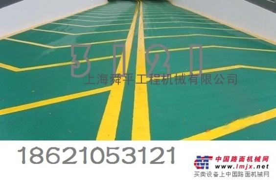 上海新桥镇沥青摊铺冷拌彩色沥青施工铺设新品喷涂沥青价格
