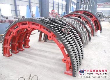 工程机械配件大齿轮小齿轮球磨机传动齿轮 矿山水泥机械配件