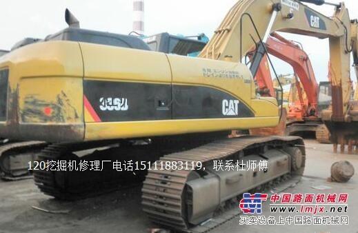内江卡特336D挖掘机马达启动不了