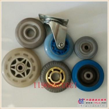 供应静音万向脚轮,灰胶轮,蓝胶静音轮,人造胶脚轮
