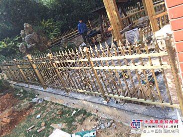 福建哪里有供应划算的庭院栅栏——景区栅栏结实漂亮