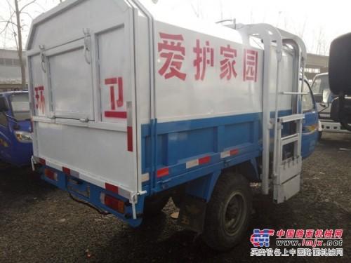 济宁绿源环卫供应二手工程洒水车 道路垃圾车全新三轮吸粪车