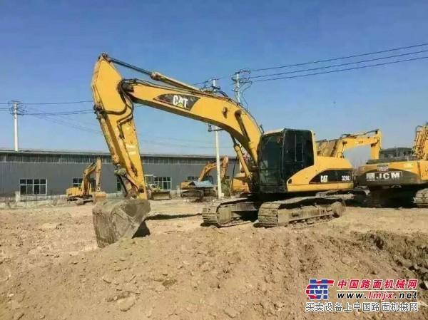 卡特挖机320C_卡特320C_挖掘机_挖掘机械_中国路面机械网