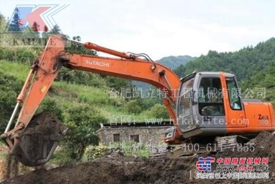 维修挖掘机|日立挖掘机失速|维修日立挖掘机