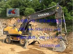 挖掘机维修|沃尔沃冒白烟|合肥挖掘机维修