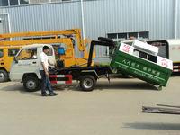 厂家出售各种二手勾臂/摆臂/自卸/压缩式各种垃圾车