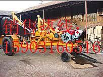 HT1003-5多用途收放线车 收放线拖车的柴油机