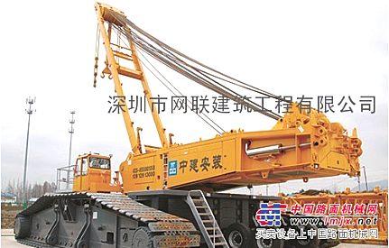 海南海口洋浦三亚东方55吨75吨80吨100吨履带吊租赁